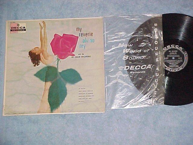 ALVINO REY-MY REVERIE-Decca Black Label LP ~Cheesecake~