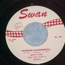 45-DICKY DOO AND THE DON'TS--WABASH CANNONBALL-Swan--NM