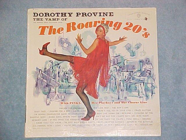 DOROTHY PROVINE/PINKY-VAMP OF THE ROARING 20s-Sealed LP