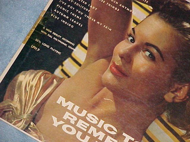 MUSIC TO REMEMBER YOU BY-Hollywood LPH-9--LP~Cheesecake