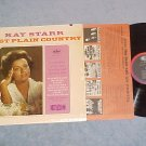 KAY STARR-JUST PLAIN COUNTRY--NM shrink 1962 LP-Capitol