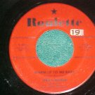 45-JIMMY BOWEN--WARM UP TO ME BABY--1957--Roulette--VG+