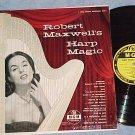 ROBERT MAXWELL'S HARP MAGIC--NM/VG+ 1955 LP--MGM E-3171