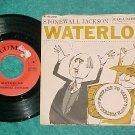 45 w/PS-STONEWALL JACKSON-WATERLOO-1959--Columbia 41393