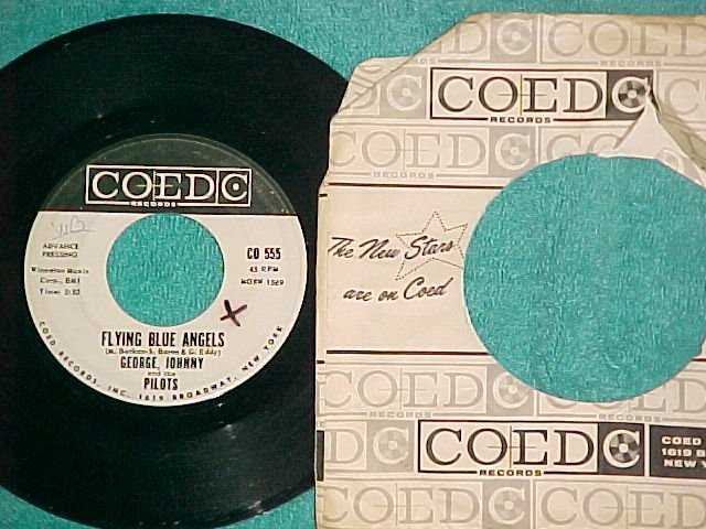 45-GEORGE,JOHNNY & PILOTS--FLYING BLUE ANGELS--WL Promo
