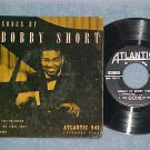 EP w/PS--SONGS BY BOBBY SHORT-Vol 2--Atlantic--VG++/VG+