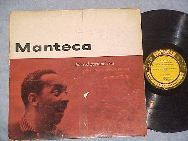 RED GARLAND-MANTECA-1958 LP--Prestige 7139--446 W 50 St