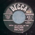 45-MERVIN SHINER AND GRADY MARTIN-SETTIN' WOODS ON FIRE
