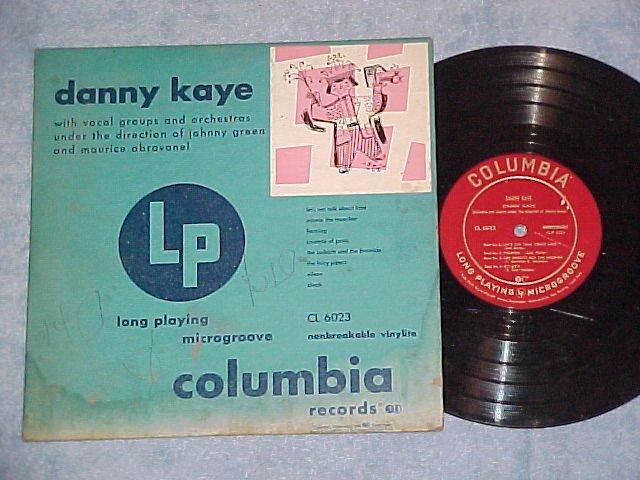 "DANNY KAYE--10"" Self Titled 1949 LP--Columbia CL-6023"