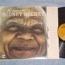 THE IMMORTAL SIDNEY BECHET--s/t NM/VG+ '70's Reissue LP
