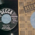 45--PEGGY LEE--SANS SOUCI--1952--Decca 28395--NM