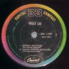 LLP/EP (Compact 33)--PEGGY LEE--1961--Capitol MA1-1591