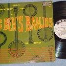 BIG BEN'S BANJOS-Vol 1-1960 WL Promo LP-King Internat'l