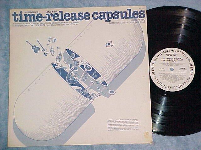 TIME-RELEASE CAPSULES-Vol 2-NM/VG+ '76 WLPromo Smplr LP