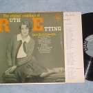 THE ORIGINAL RECORDINGS OF RUTH ETTING-NM/VG+ '50's  LP