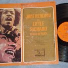 JIMI HENDRIX AND LITTLE RICHARD--ROOTS OF ROCK--1974 LP