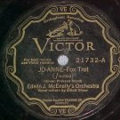 78-EDWIN J McENELLY'S ORCHESTRA--JO-ANNE--Victor Scroll