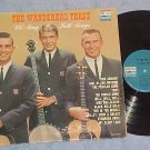 THE WANDERERS THREE--WE SING FOLK SONGS-1963 LP--Dolton