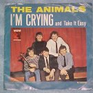 45 PS--THE ANIMALS--I'M CRYING--1964--MGM K-13274--VG+