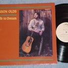 ANSON OLDS--SAFE TO DREAM--NM/VG++ 1988 Private Folk LP