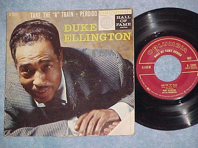 """EP w/PS-DUKE ELLINGTON-TAKE THE """"A"""" TRAIN--1956--NM/VG+"""