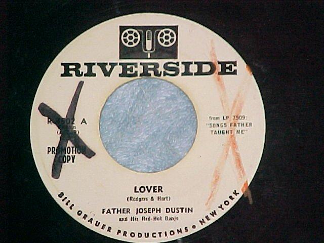 45--FATHER JOSEPH DUSTIN--LOVER--1961--WL Promo--VG++