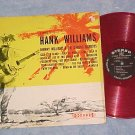 JOHNNY WILLIAMS-A TRIBUTE TO HANK WILLIAMS-LP-Red Vinyl