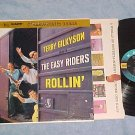 TERRY GILKYSON/THE EASY RIDERS--ROLLIN'--VG++ Stereo LP