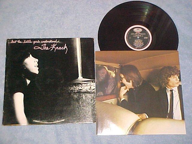 THE KNACK--...BUT THE LITTLE GIRLS UNDERSTAND--1980 LP