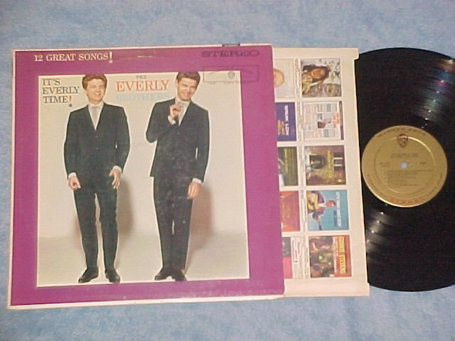 THE EVERLY BROTHERS--IT'S EVERLY TIME--NM/VG+ Stereo LP