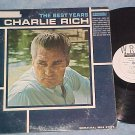 CHARLIE RICH-THE BEST YEARS--VG++/VG + 1966 WL Promo LP