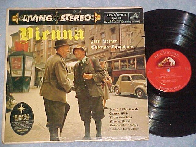 Shaded Dog LP--LSC-2112--VIENNA--Reiner/CSO--1958 LP