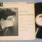 A RECITAL BY JOHN OGDON--piano--NM/VG Stereo 1963 UK LP