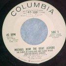 45-DUKES OF DIXIELAND/CLARA WARD-Columbia WL Promo-1963