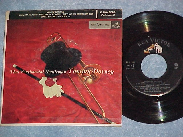 EP w/PS-TOMMY DORSEY--THAT SENTIMENTAL GENTLEMAN--Vol 3