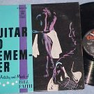 BILL FAITH--A GUITAR TO REMEMBER--VG+ Stereo 1960 LP