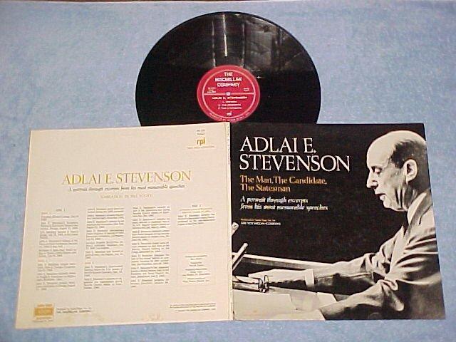 ADLAI E. STEVENSON-excerpts from speeches:1952-1965--LP
