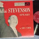 ADLAI STEVENSON SPEAKS--NM/VG+ 1952 RCA Red Seal LP