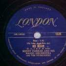78-SONNY FARRAR BANJO ORCH w/STARGAZERS--NO MORE-London