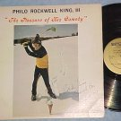 PHILO ROCKWELL KING-PLEASURE OF HIS COMEDY-Autograph LP