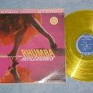 AL STEPHANO-RHUMBA REFLEXIONES-VG+ 1961 Yellow Vinyl LP