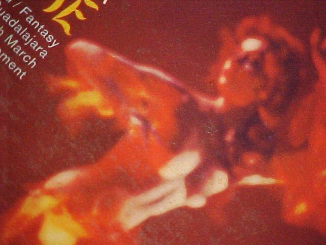 ESQUIVEL--STRINGS AFLAME--VG+ Mono 1959 LP ~Cheesecake~