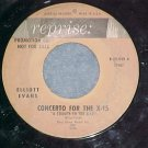Promo 45--ELLIOT EVANS--CONCERTO FOR THE X-15--1961