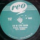 Canada 78-FATS DOMINO--I'M IN LOVE AGAIN--Reo 8095--VG+
