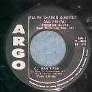 EP--RALPH SHARON QUARTET--2:38 A.M.--Vol. 1--Argo 1077