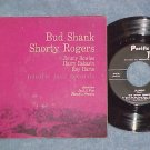 EP w/PS--BUD SHANK QUINTET w/SHORTY ROGERS-Pacific Jazz