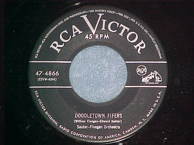 45-SAUTER-FINEGAN ORCHESTRA--DOODLETOWN FIFERS-1952--NM