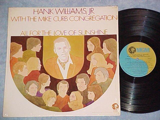 HANK WILLIAMS JR/M CURB-NM'71 LP-Capitol Record Club-#1
