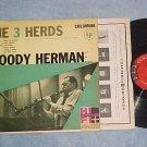 WOODY HERMAN-THE 3 HERDS-VG++/VG+'55 LP-Columbia CL-592