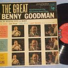 THE GREAT BENNY GOODMAN--VG+ 1956 LP--Columbia CL-820